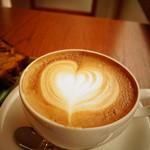 zoka coffee - ラテアートしてもらったよ!