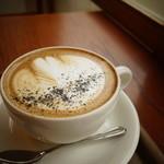 zoka coffee - 黒ごまラテ