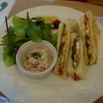 アール - 日替わりランチのサンドイッチ