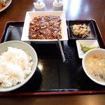 美食中華 泰山 - マーボー豆腐(辛いバージョン)