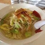 ラーメン&らあめん一代元 - 料理写真:塩野菜ラーメン