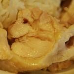 堀内チキンライス - チキン アップ