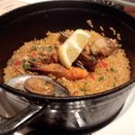 NUTS RESORT DUO - ココットで炊き上げるパエリア(クラシックシーフード)