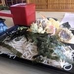 そば処 葵 - 天ざるそば 1,300円