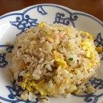 中華そば あまの屋 - 炒飯ハーフ400円