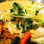 あすれ甲南堂 - 生野菜がお皿に!健康を気づかってくださってるのかも