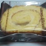 18545324 - りんごのロールケーキ