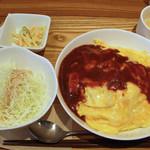 キッチン ハレヤ - キッチンハレヤ(チーズオムライス・650円)