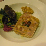 バール ベヴィトーレ - 自家製お肉のパテ