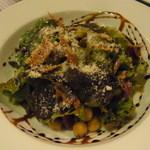 バール ベヴィトーレ - パンチェッタといろいろ豆のサラダ