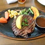 れんが亭 - 料理写真:ステーキ