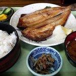 食彩酒房 さいせい - 焼き魚定食 ほっけ