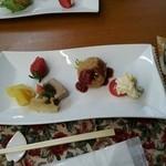 りすたあ八十松 - 料理写真:ランチ本日の前菜