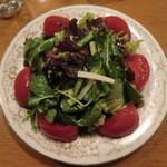 8 1/2 - サラダ・トマト添え
