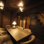 ななたに - 蔵を改装したプライベート空間な個室は8名まで利用できる