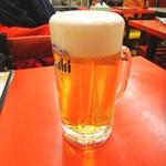 餃子の唐安楼 - 生ビール