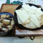 吉見屋食堂 - 料理写真:川幅田舎汁うどん(550円)_2013-04-24
