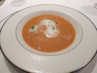ラ・メール - 伊勢エビのクリームスープ
