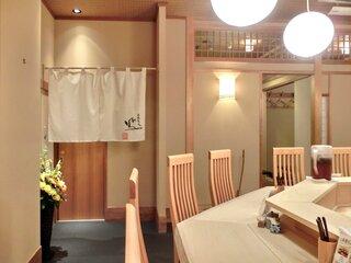 鳳 - 【'13/04/19撮影】店内のカウンター席の風景です