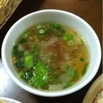 18556094 - セットのスープ