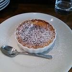 18556471 - セットデザートのクリームブリュレ