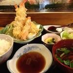 元禄鮨 - 天ぷら定食(ランチ)