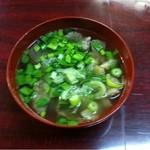 河内屋 - 牛スジスープ