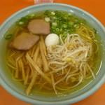 宝来軒 - ラーメン(しょうゆ)450円