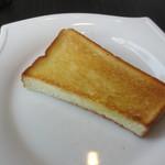 18557223 - モーニングのトースト
