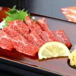 味のれん - 九州に来たら食べずに帰れない『特上馬刺』