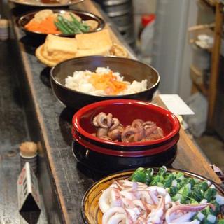 小倉名物鰯のぬか炊き、当店オリジナルいわしのぬか焼き