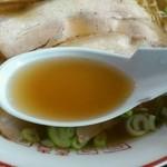 味好 - トビウオラーメンスープ インザ レンゲ