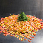 お好み焼 南風 - 料理写真:チューとろ焼・明太マヨ(山芋ベースで新触感!)
