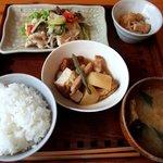甘夏食堂 - 今日の和風ごはん(800円)