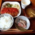 甘夏食堂 - 今日の洋風ごはん(800円)