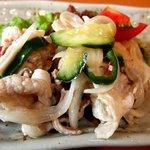 甘夏食堂 - 豚肉と野菜のマリネ