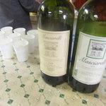 オステリア・デル・ボルゴ - 白ワインのんだ