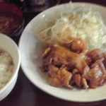 18560654 - 豚生姜焼き定食