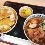 三嶋屋 - かつ丼定食(980円)