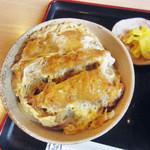 三嶋屋 - かつ丼