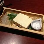 18561385 - 赤穂の天塩で食べる濃厚な極み豆冨