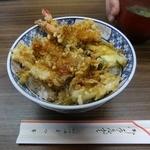 まつ本 - 天丼1000円