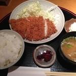 18562282 - チキンカツ膳630円