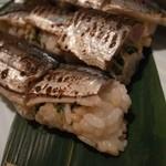 バルタザール  - 秋刀魚棒寿司
