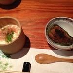 Shikishunsaiariki - 自家製豆腐とピーマンの肉詰め