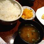 18563096 - 「ご飯と味噌汁セット」 294円