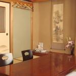 新富鮨 - 座敷席