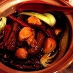 中国茶房8 - 2013年4月24日毛沢東が好んだ豚の角煮