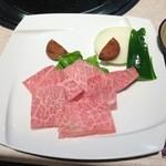18564768 - 特上霜降焼肉定食(2,400円)