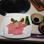 18564771 - 特上霜降焼肉定食(2,400円)